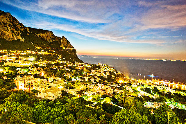 Capri_solnedgang