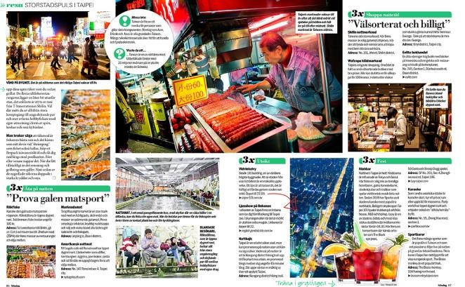 Taipei Aftonbladet Söndag 2