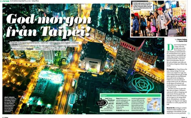 Taipei Aftonbladet Söndag